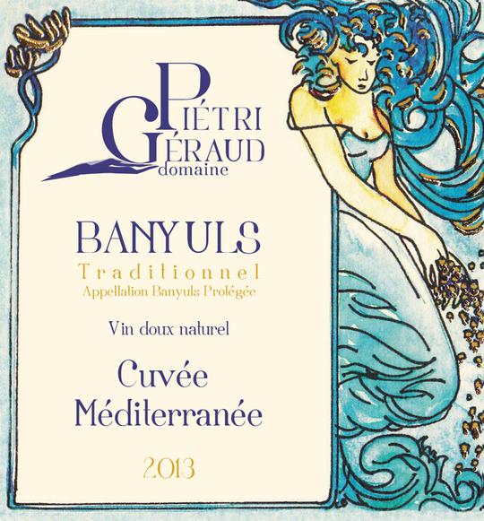 Banyuls traditionnel Cuvée Méditerranée Domaine Piétri Géraud