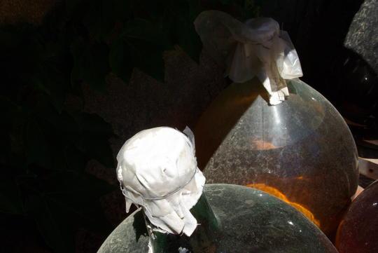 Bonbonnes verre Cuvée du Soleil Domaine Pietri Géraud