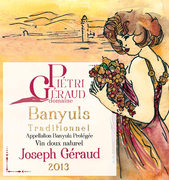 Banyuls traditionnel tuilé Joesph Géraud Domaine Piétri Géraud