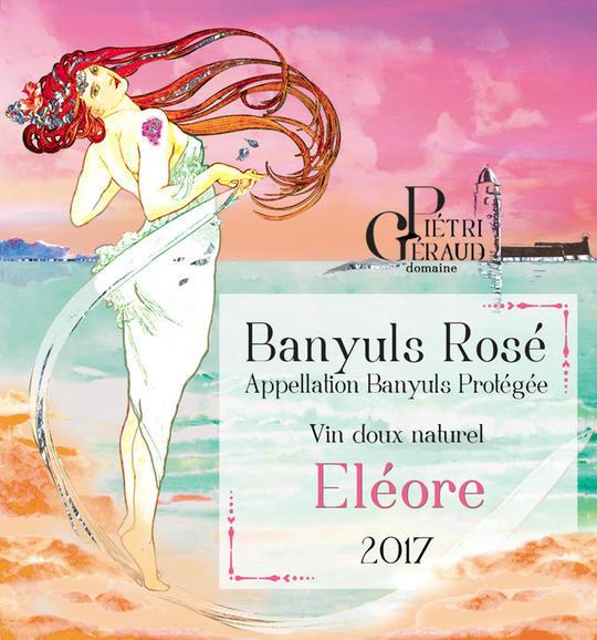 Banyuls Rosé Eléore 2017