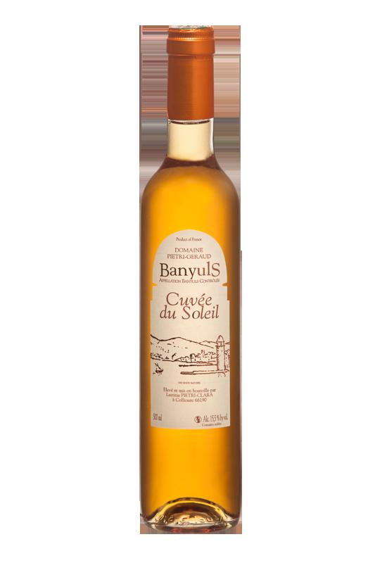Banyuls ambré Cuvée du Soleil Domaine Piétri Géraud